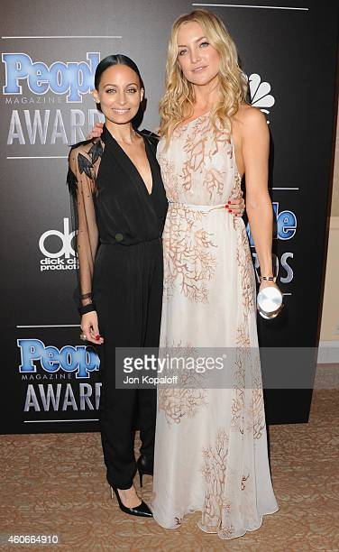 Nicole Richie and Kate Hudson arrive at The PEOPLE Magazine Awards at The Beverly Hilton Hotel on December 18 2014 in Beverly Hills California