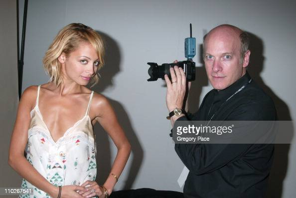 Nicole Richie and Timothy Greenfield Sanders photographer