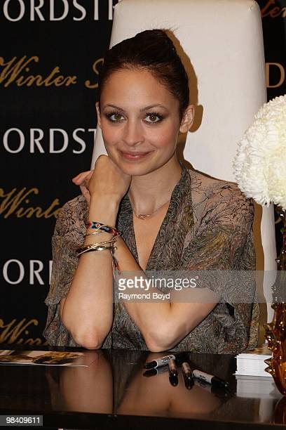 Nicole Richie appears at Nordstrom in Chicago Illinois on APRIL 10 2010