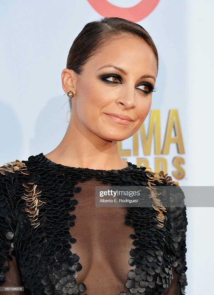 Nicole Richie arrives at the 2012 NCLR ALMA Awards at Pasadena Civic Auditorium on September 16, 2012 in Pasadena, California.