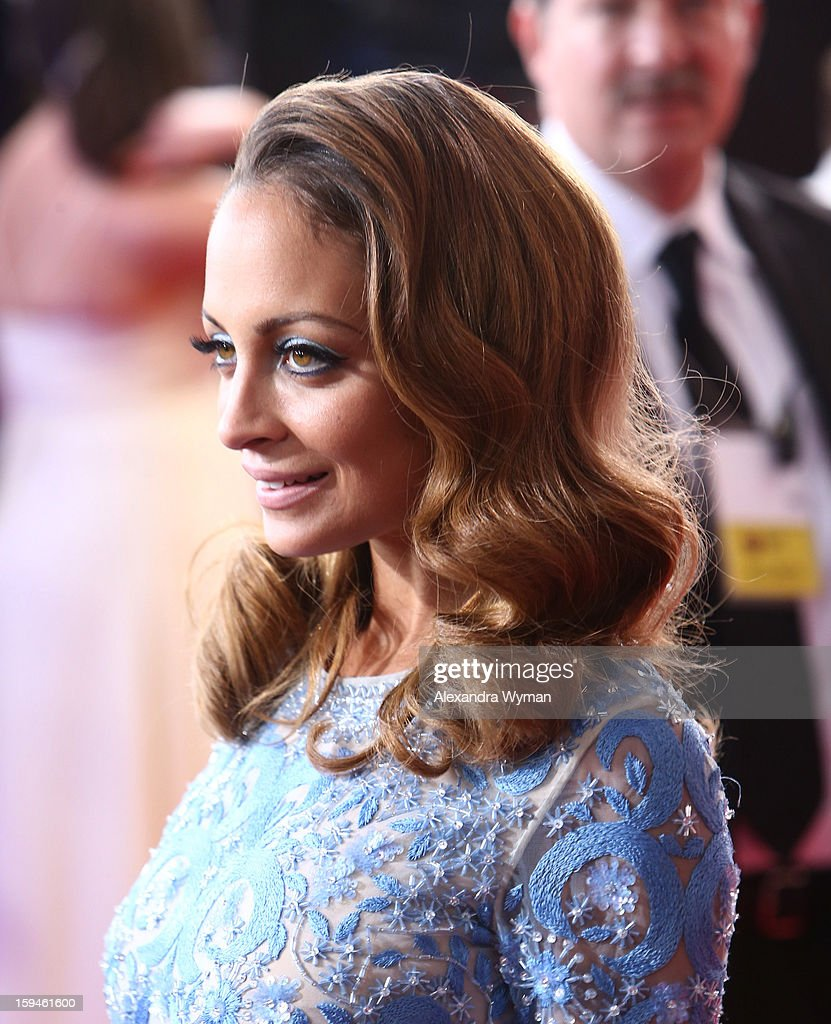 Nicole Richie arrives at the 70th Annual Golden Globe Awards held at The Beverly Hilton Hotel on January 13, 2013 in Beverly Hills, California.