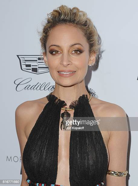 Nicole Richie arrives at The Daily Front Row 'Fashion Los Angeles Awards' 2016 at Sunset Tower Hotel on March 20 2016 in West Hollywood California