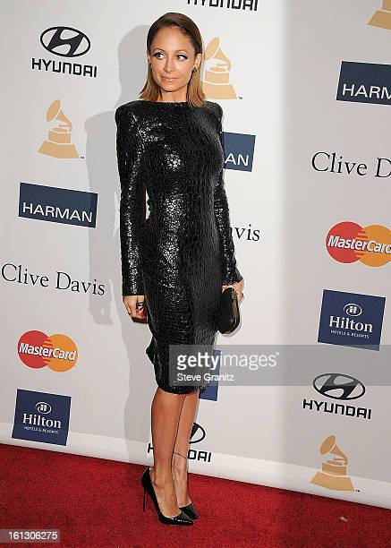 Nicole Richie arrives at the The 55th Annual GRAMMY Awards PreGRAMMY Gala And Salute To Industry Icons Honoring LA Reid on February 9 2013 in Los...