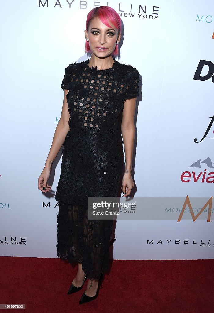 Nicole Richie arrives at the The Daily Front Row's 1st Annual Fashion Los Angeles Awards at Sunset Tower Hotel on January 22 2015 in West Hollywood...