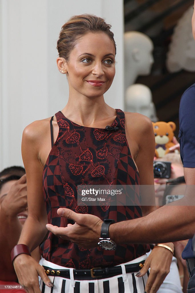 Nicole Richie as seen on July 10, 2013 in Los Angeles, California.