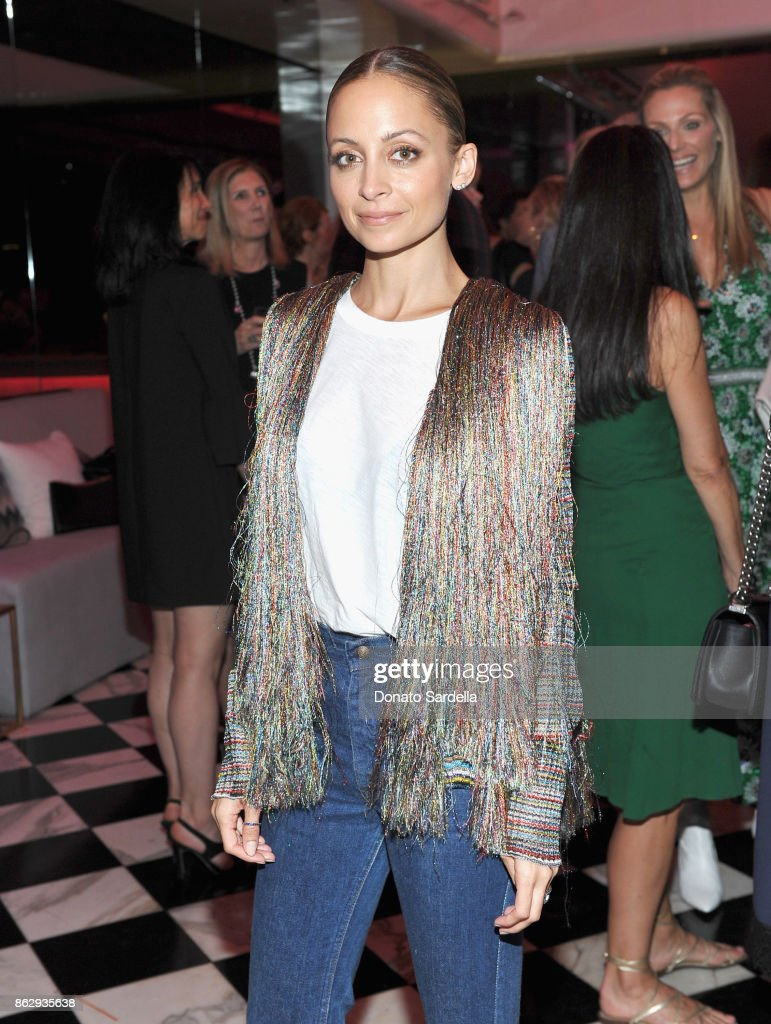 Nicole Richie at SAKS FIFTH AVENUE and WOMENS CANCER RESEARCH FUND celebration of KEY TO THE CURE with MISSONI at Mr. Chow on October 18, 2017 in Beverly Hills, California.