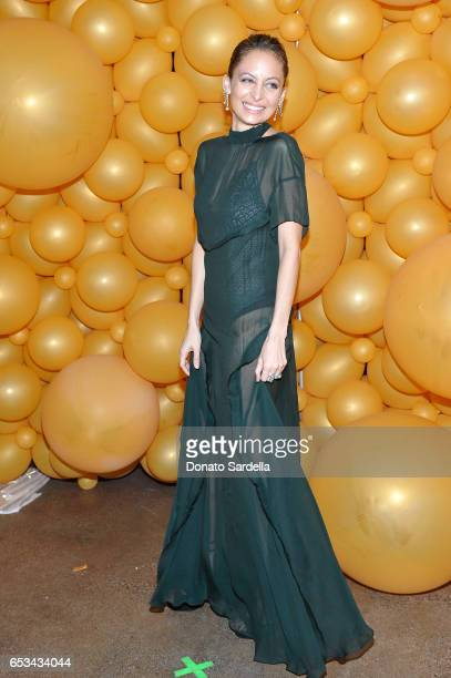 Nicole Richie at the Power Stylists Dinner hosted by The Hollywood Reporter and Jimmy Choo on March 14 2017 in West Hollywood California