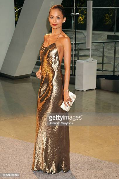 Nicole Richie attends 2013 CFDA FASHION AWARDS underwritten by Swarovski at Lincoln Center on June 3 2013 in New York City