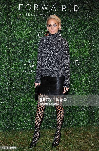 Nicole Richie attends FORWARD By Elyse Walker and CFDA 2015 Rising Talent Launch Event on November 17 2015 in Los Angeles California