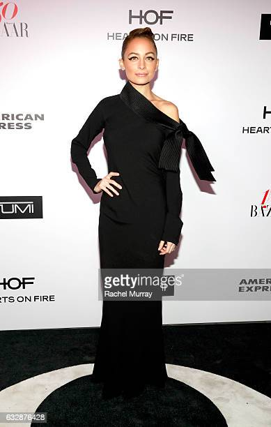 Nicole Richie attends Harper's BAZAAR celebration of the 150 Most Fashionable Women presented by TUMI in partnership with American Express La Perla...