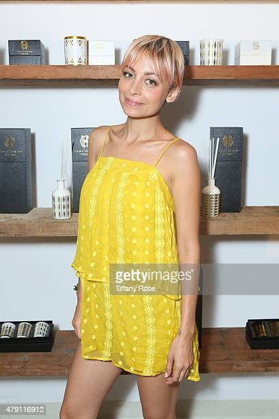 Nicole Richie attends House of Harlow 1960 popup shop at The Grove on June 29 2015 in Los Angeles California