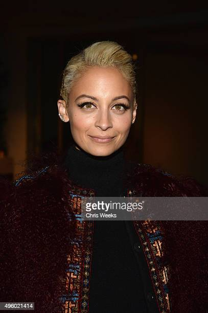 Nicole Richie attends Jessica Alba Humberto Leon and InStyle celebrate Honest Beauty and the launch of the #letsbehonest campaign on November 5 2015...