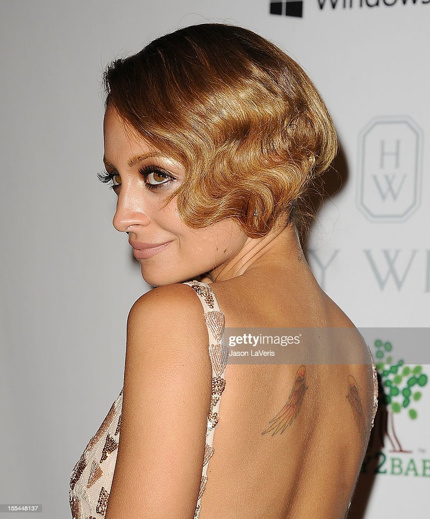 Nicole Richie attends the 1st annual Baby2Baby gala at Book Bindery on November 3 2012 in Culver City California