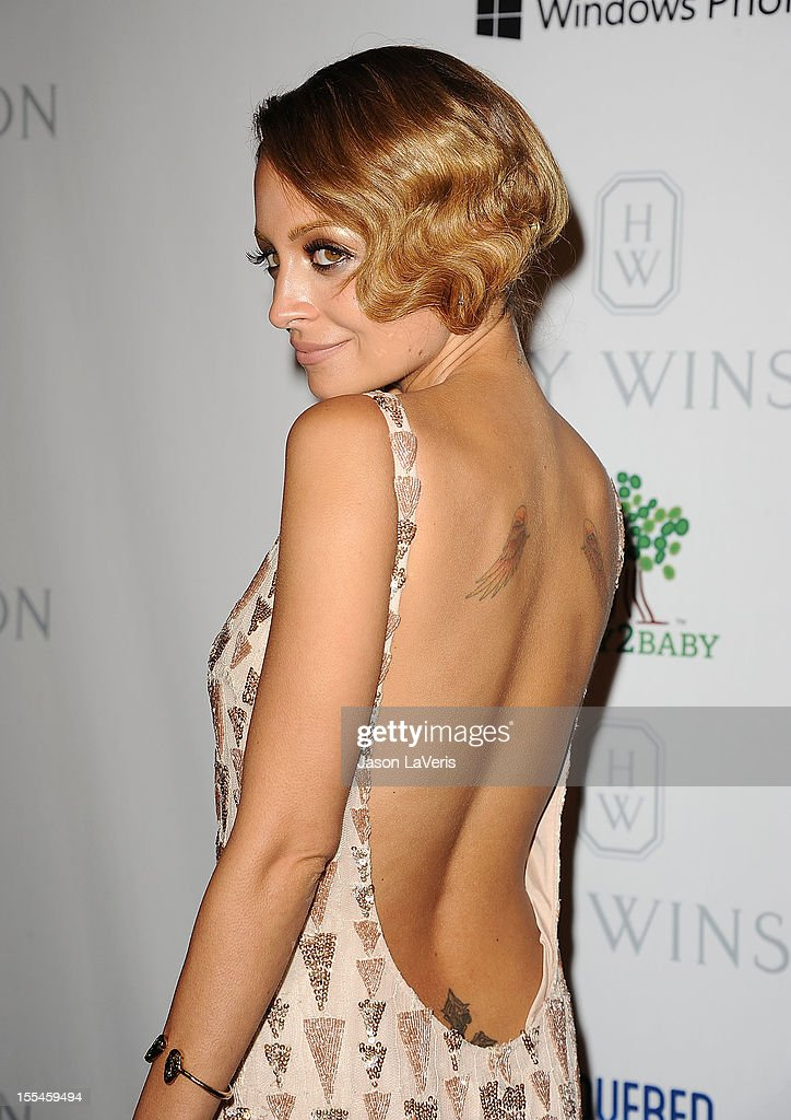 Nicole Richie attends the 1st annual Baby2Baby gala at Book Bindery on November 3, 2012 in Culver City, California.