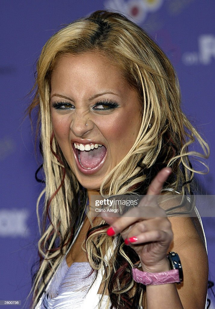 <a gi-track='captionPersonalityLinkClicked' href=/galleries/search?phrase=Nicole+Richie&family=editorial&specificpeople=201646 ng-click='$event.stopPropagation()'>Nicole Richie</a> attends the 2003 Billboard Music Awards at the MGM Grand Garden Arena December 10, 2003 in Las Vegas, Nevada. The 14th annual ceremony airs live tonight on FOX 8:00-10:00 PM ET Live/PT.