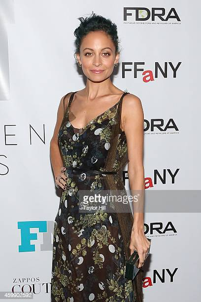 Nicole Richie attends the 2014 Fashion Footwear Association Of New York Awards at IAC Building on December 3 2014 in New York City