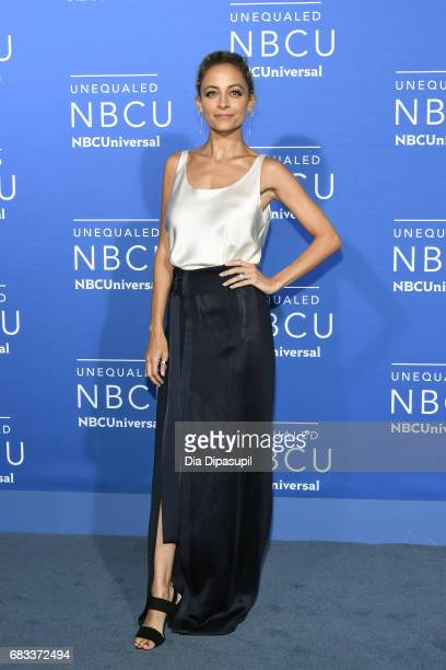Nicole Richie attends the 2017 NBCUniversal Upfront at Radio City Music Hall on May 15 2017 in New York City