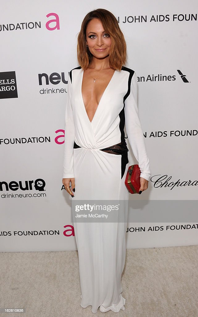 Nicole Richie attends the 21st Annual Elton John AIDS Foundation Academy Awards Viewing Party at West Hollywood Park on February 24, 2013 in West Hollywood, California.
