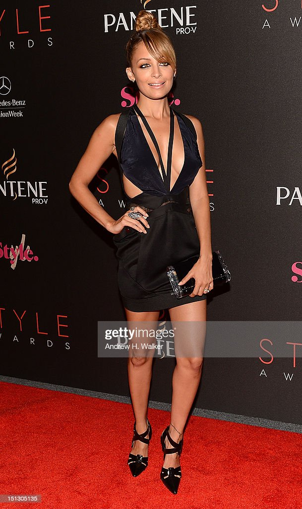 <a gi-track='captionPersonalityLinkClicked' href=/galleries/search?phrase=Nicole+Richie&family=editorial&specificpeople=201646 ng-click='$event.stopPropagation()'>Nicole Richie</a> attends the 9th annual Style Awards during Mercedes-Benz Fashion Week at The Stage Lincoln Center on September 5, 2012 in New York City.