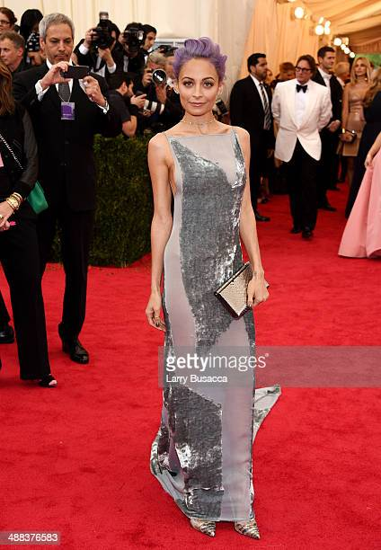 Nicole Richie attends the 'Charles James Beyond Fashion' Costume Institute Gala at the Metropolitan Museum of Art on May 5 2014 in New York City