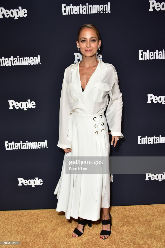 Nicole Richie attends the Entertainment Weekly & People New York Upfronts at 849 6th Ave on May 15, 2017 in New York City.