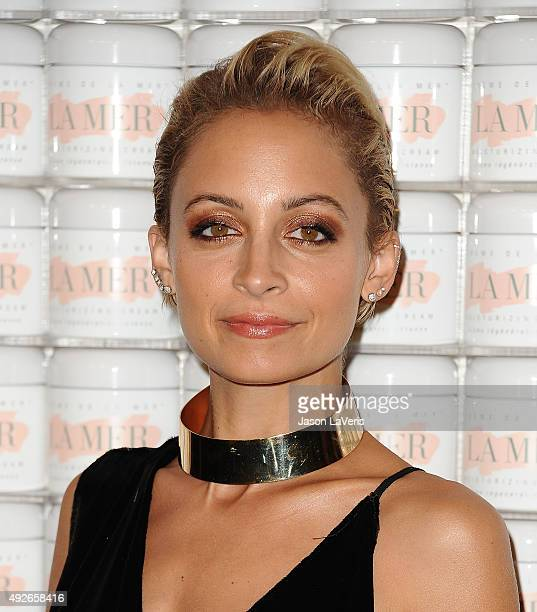 Nicole Richie attends the La Mer celebration of an Icon event at Siren Studios on October 13 2015 in Hollywood California