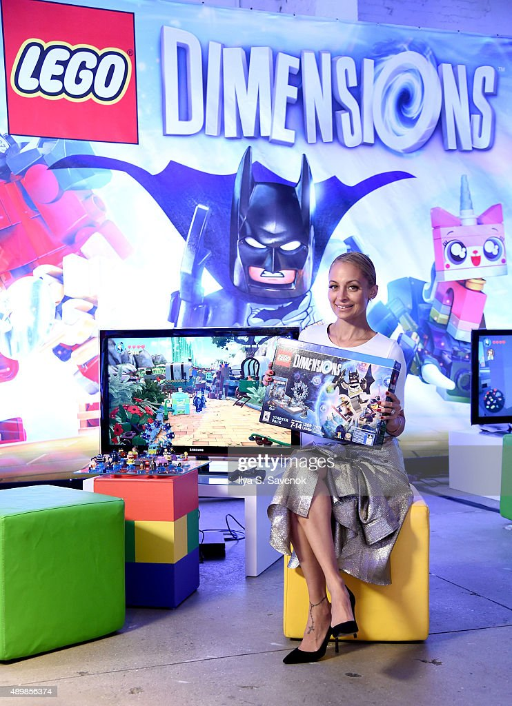 Nicole Richie attends the launch party for LEGO Dimensions, the new toys for lifevideo game, on September 24, 2015 in New York City.