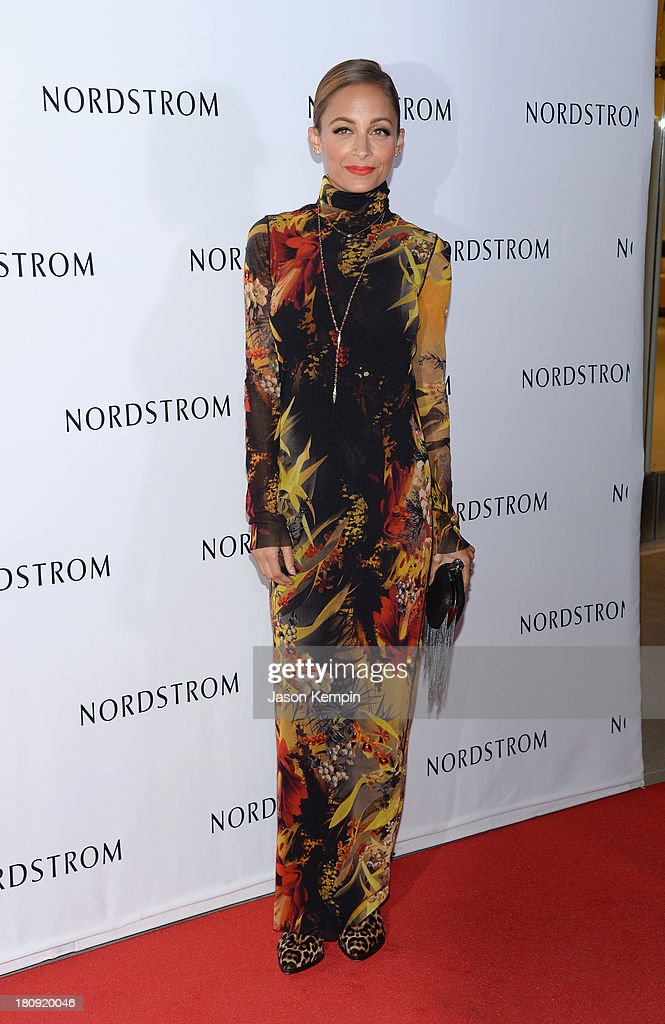 <a gi-track='captionPersonalityLinkClicked' href=/galleries/search?phrase=Nicole+Richie&family=editorial&specificpeople=201646 ng-click='$event.stopPropagation()'>Nicole Richie</a> attends the Nordstrom Gala at The New Nordstrom's At The Americana At Brand at The Americana at Brand on September 17, 2013 in Glendale, California.
