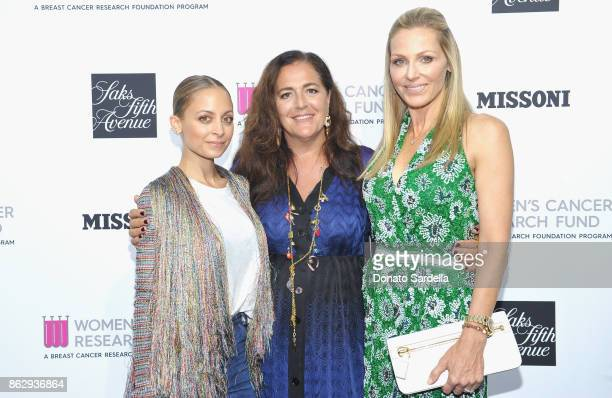 Nicole Richie Creative Director Missoni Angela Missoni WCRF Founder Jamie Tisch at SAKS FIFTH AVENUE and WOMENS CANCER RESEARCH FUND celebration of...