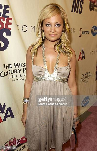 Nicole Richie during 11th Annual Race to Erase MS Red Carpet at Century Plaza Hotel in Century City California United States