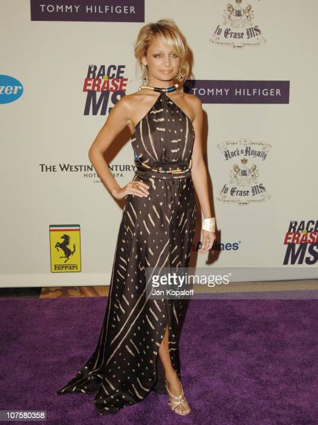 Nicole Richie during 12th Annual Race to Erase MS Themed 'Rock Royalty to Erase MS' Arrivals at The Westin Century Plaza Hotel Spa in Los Angeles...