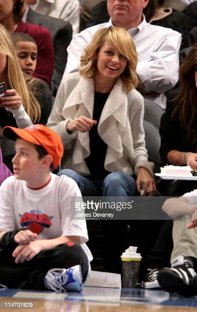 Nicole Richie during Celebrities Attend Los Angeles Clippers vs New York Knicks Game February 7 2006 at Madison Square Garden in New York City New...