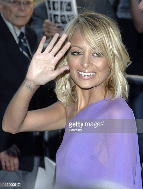 Nicole Richie during 'War of the Worlds' New York City Premiere Arrivals at Ziegfield Theater in New York City New York United States