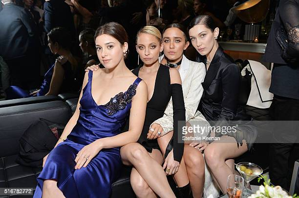 Nicole Richie Jessie Joe and Bella Hadid attend The Daily Front Row Fashion Los Angeles Awards Private Dinner Hosted By Eva Chow And Carine Roitfeld...