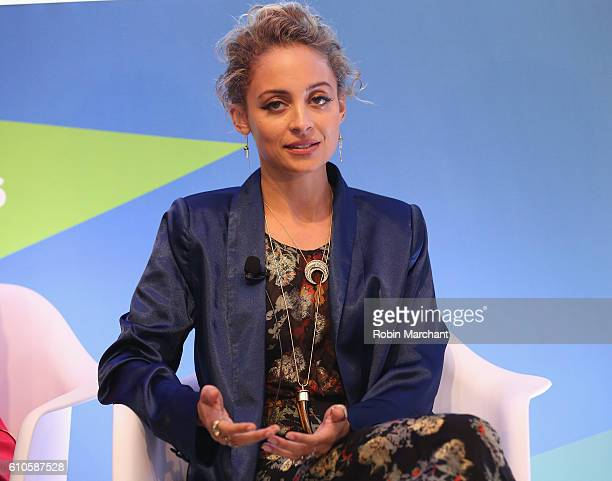 Nicole Richie speaks onstage at Breaking the Mold at Thomson Reuters during 2016 Advertising Week New York on September 26 2016 in New York City