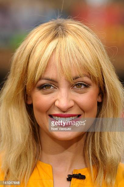 Nicole Richie visits 'Extra' at The Grove on March 9 2012 in Los Angeles California