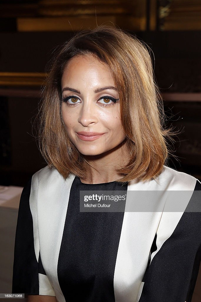 Nicole Ritchie attends the Stella McCartney Fall/Winter 2013 Ready-to-Wear show as part of Paris Fashion Week on March 4, 2013 in Paris, France.