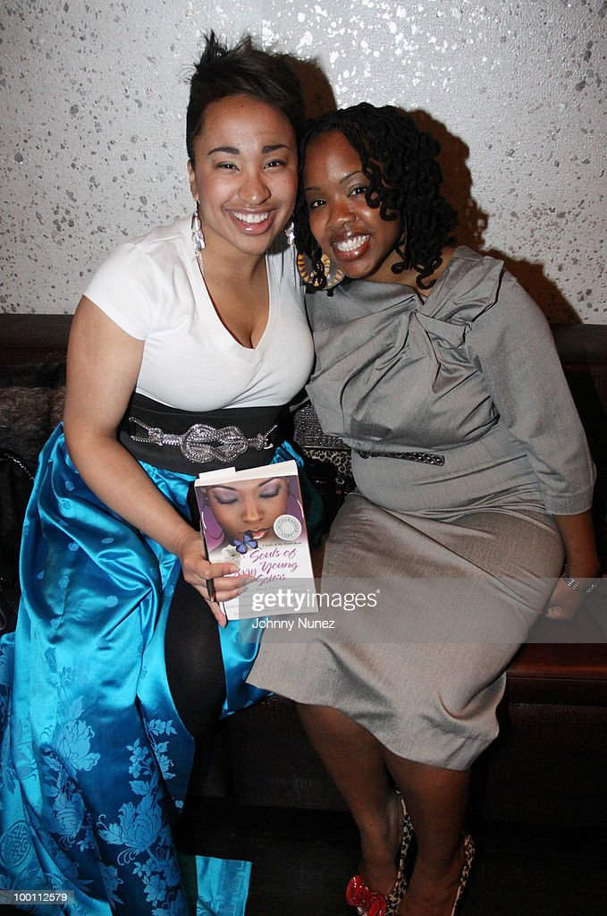 Nicole Sallis and Aleia Moore attend a press reception for 'Souls of My Young Sisters' at Covet on May 20, 2010 in New York City.
