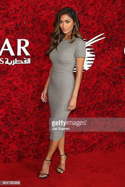 Nicole Scherzinger arrives at Qatar Airways Los Angeles Gala at Dolby Theatre on January 12 2016 in Hollywood California