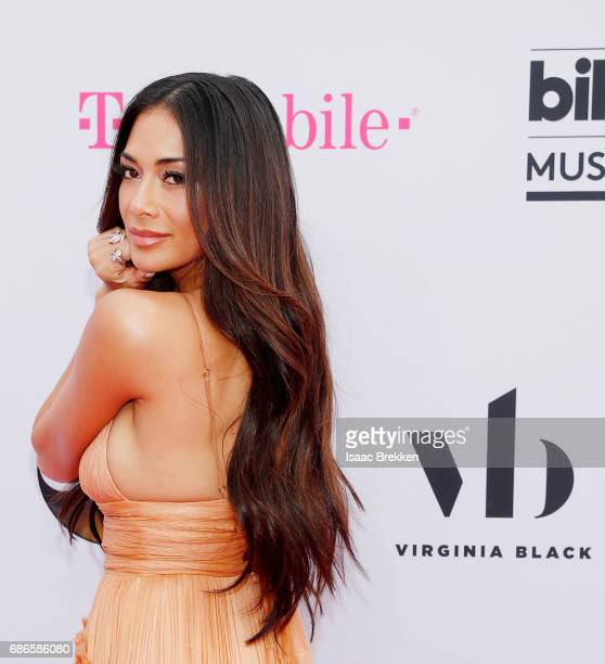 Nicole Scherzinger arrives at the 2017 Billboard Music Awards presented by Virginia Black at TMobile Arena on May 21 2017 in Las Vegas Nevada