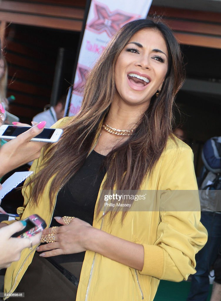 <a gi-track='captionPersonalityLinkClicked' href=/galleries/search?phrase=Nicole+Scherzinger&family=editorial&specificpeople=678971 ng-click='$event.stopPropagation()'>Nicole Scherzinger</a> arrives at the Dublin X Factor auditions at Croke Park on July 1, 2016 in Dublin, Ireland.