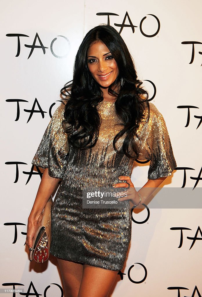 <a gi-track='captionPersonalityLinkClicked' href=/galleries/search?phrase=Nicole+Scherzinger&family=editorial&specificpeople=678971 ng-click='$event.stopPropagation()'>Nicole Scherzinger</a> arrives for her birthday celebration at TAO Nightclub at the Venetian on June 25, 2011 in Las Vegas, Nevada.