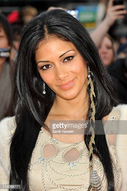 Nicole Scherzinger arrives for The L'Oreal National Movie Awards at Wembley Arena on May 11 2011 in London England