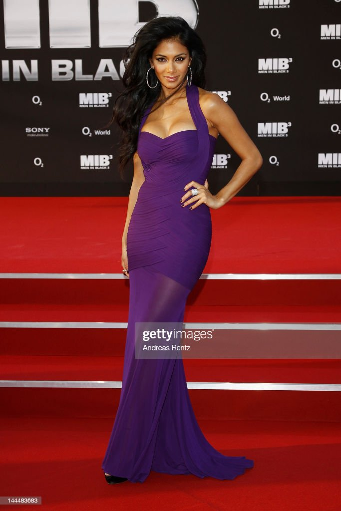 Nicole Scherzinger arrives for the Men In Black 3 Germany Premiere at O2 World on May 14, 2012 in Berlin, Germany.
