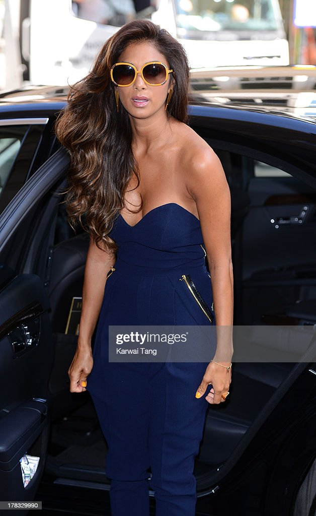 <a gi-track='captionPersonalityLinkClicked' href=/galleries/search?phrase=Nicole+Scherzinger&family=editorial&specificpeople=678971 ng-click='$event.stopPropagation()'>Nicole Scherzinger</a> arrives for the X-Factor Press Launch held at The Mayfair Hotel on August 29, 2013 in London, England.