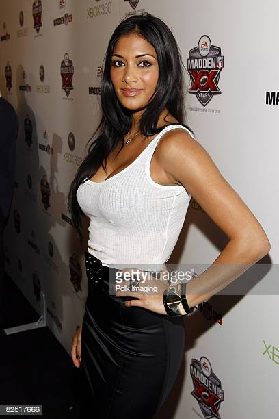 Nicole Scherzinger arrives to the 20th Anniversary of Madden NFL Franchise Celebration Hosted by EA Sports at STK/CoCo De Ville in West Hollywood CA...