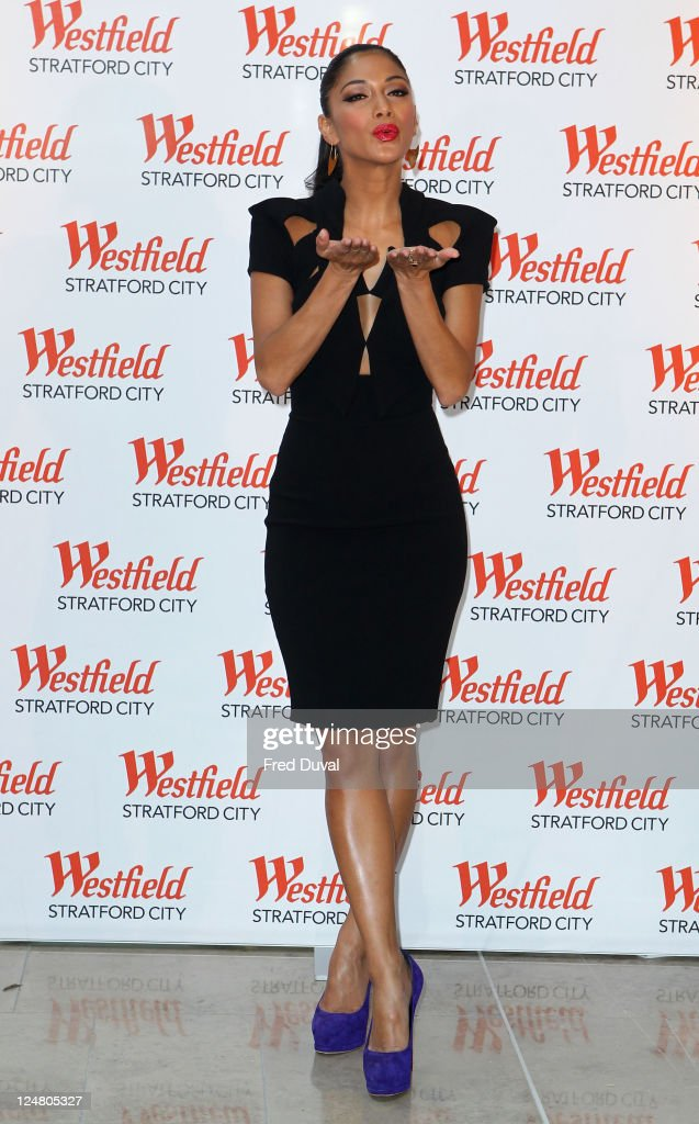Nicole Scherzinger attends a photocall for the grand opening of Westfield Stratford City shopping centre at Westfield Stratford City on September 13, 2011 in London, England.