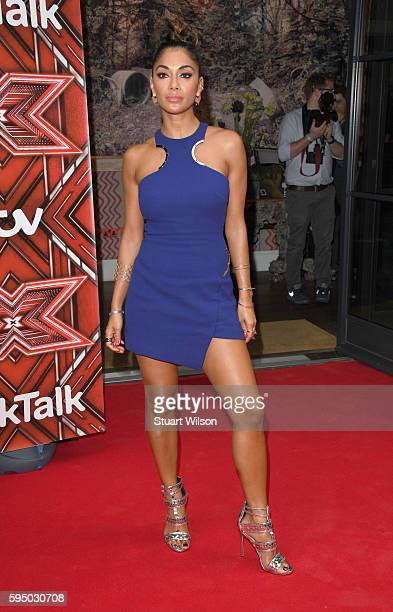 Nicole Scherzinger attends a Photocall to launch The X Factor 2016 at Ham Yard Hotel on August 25 2016 in London England