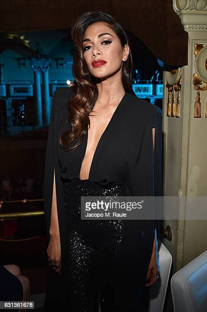 Nicole Scherzinger attends Firenze4ever 14th Edition Party hosted by LuisaViaRoma on January 9 2017 in Florence Italy