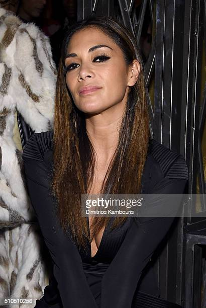 Nicole Scherzinger attends IMG Models Celebrates The Sports Illustrated Swimsuit issue at Vandal on February 15 2016 in New York City
